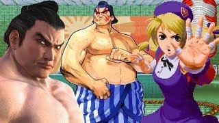 Top Ten Sumo Wrestlers in Fighting Games