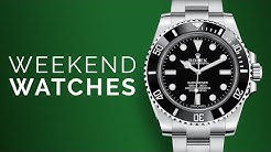 """Rolex Submariner """"No Date"""": Blancpain Fifty Fathoms Barakuda: Dive Watches To Buy From Home"""