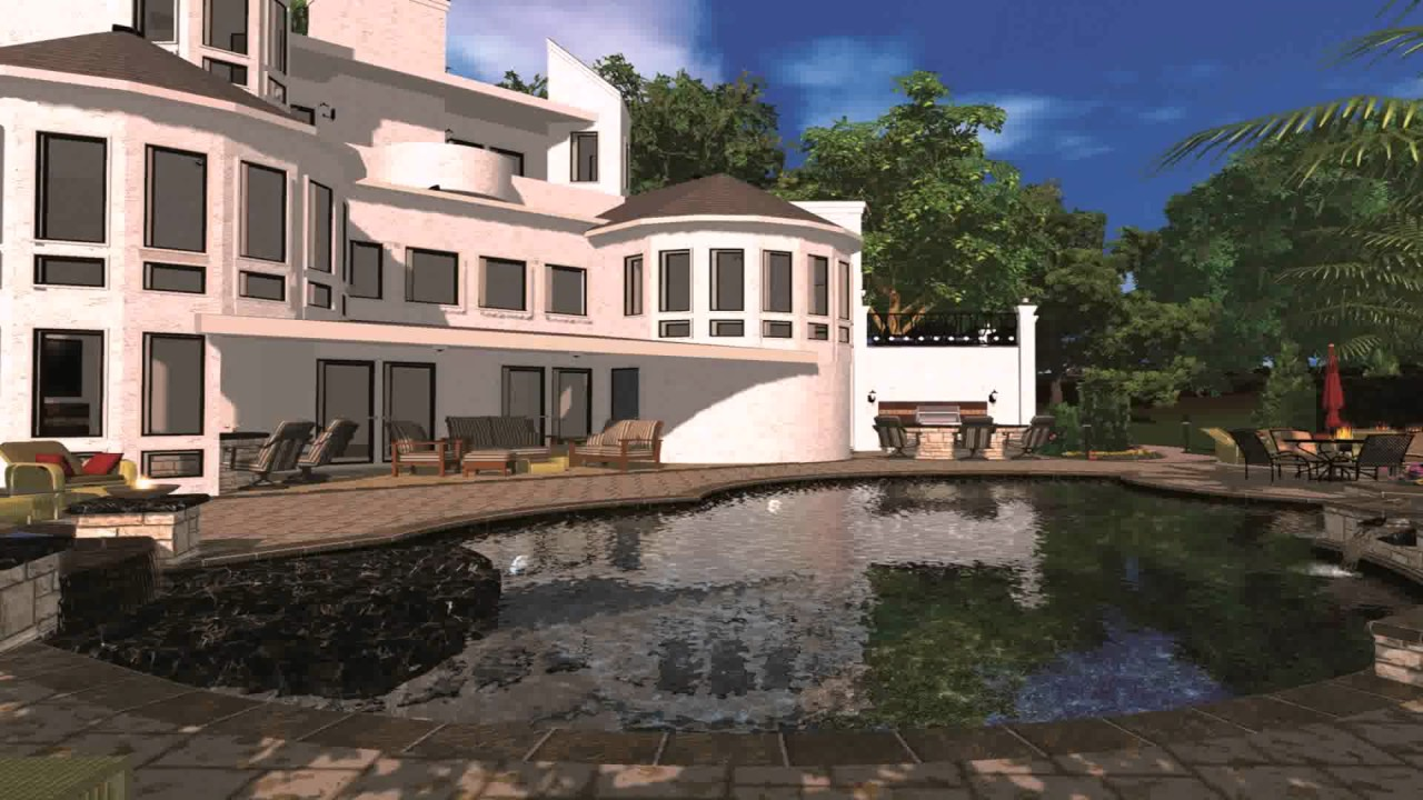 House design by autocad - House Design In Autocad 3d