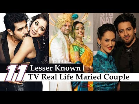 Lesser Known TV Married Couple  11 Lesser Known Indian TV Celebrities Who Are Real Life Couple