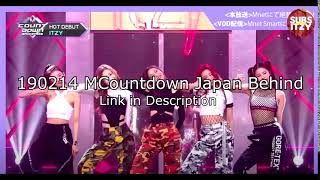 [ENG SUB] 190214 ITZY MCountdown Japan Behind (Link in Descr…