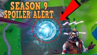 FORTNITE *SEASON 9* POSSIBLE SPOILER EVENT ALERT + POSSIBLE NEW AVENGERS SKIN LEAK