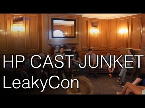 Harry Potter Cast Junket @ LeakyCon London - Evanna Lynch, Scarlett Byrne and More