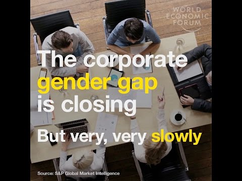 The corporate gender gap is closing