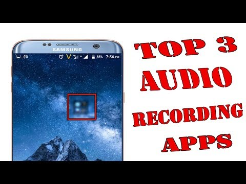 Top 3 Unique Audio Recorder For Android 2018