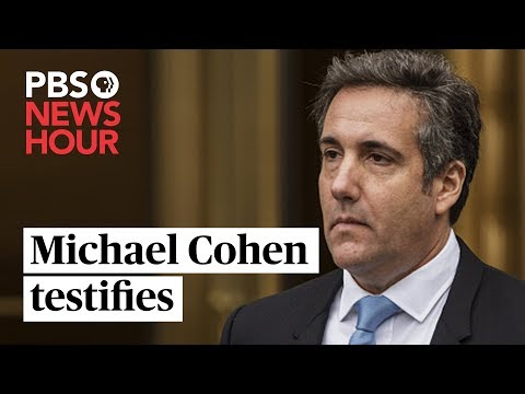 WATCH LIVE: Former Trump lawyer Michael Cohen testifies before the House Oversight Committee