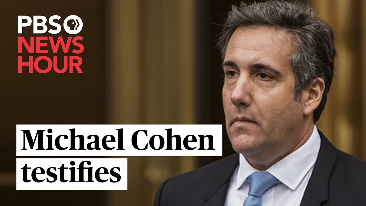 Live coverage: Cohen clashes with GOP over Trump allegations