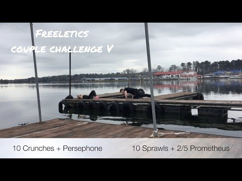 Freeletics Couple Challenge Training 5 | Hot Springs Ouachita River