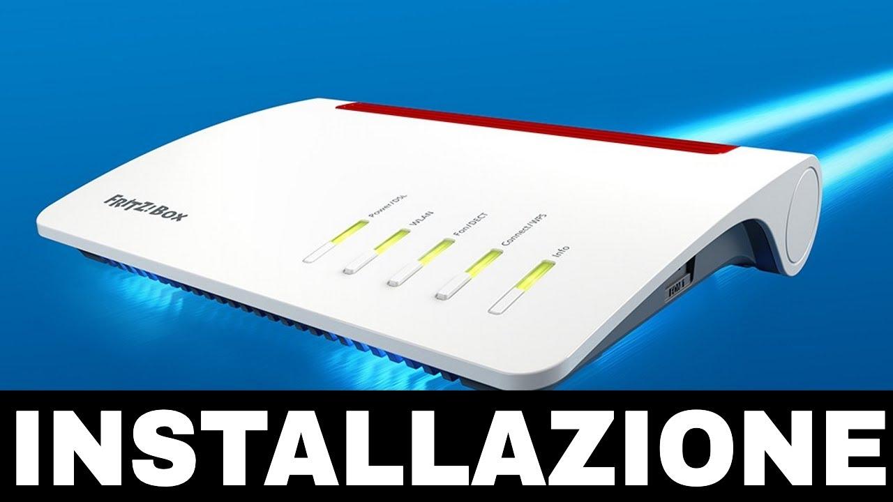 Tutorial FritzBox 20   Setup Iniziale e Installazione   Connessione e  VOIP