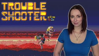 Trouble Shooter - A Shooter for Girls?! (Sega Genesis) | Cannot be Tamed