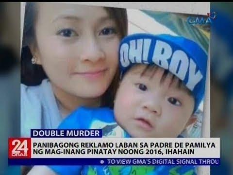 Panibagong reklamo laban sa padre de pamilya ng mag-inang pinatay noong 2016, ihahain