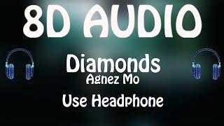 Agnez Mo - Diamonds (8D AUDIO 🎵) Ft. French Montana
