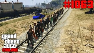 GTA 5 Online #1063 Wann kommt der Zug [Deutsch] Let´s Play GTA V Online PS4