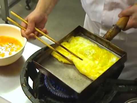 Japanese Omelette - Cách chiên trứng của người Nhật