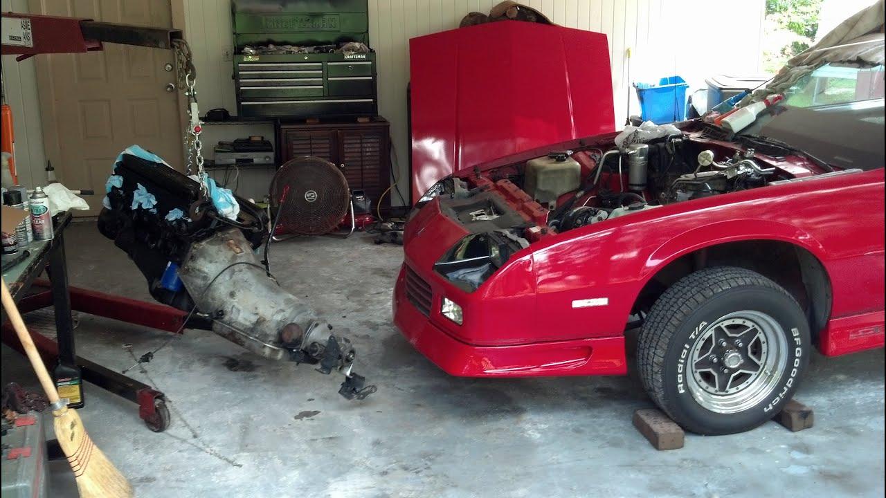 1992 Camaro v6 to v8 Lt1 Swap (Start to Finish) - YouTube