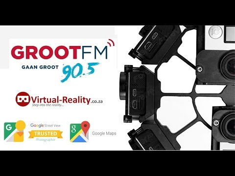 Groot FM 90.5 Radio Station 360° Video of the Studio