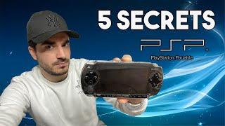 5 SECRETS CACHÉS SUR LA PSP!