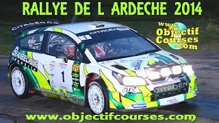 Vid�o Rallye de l'Ard�che 2014