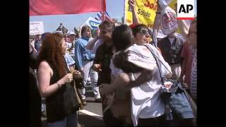 France/Germany - Protests over unemployment