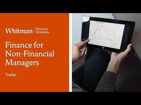 Syracuse University Finance for Non-financial Managers Online Short Course | Trailer