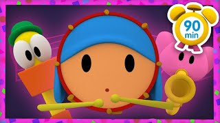 🎸 POCOYO in ENGLISH -The Ball Orchestra's Party [90 min] Full Episodes| VIDEOS and CARTOONS for KIDS
