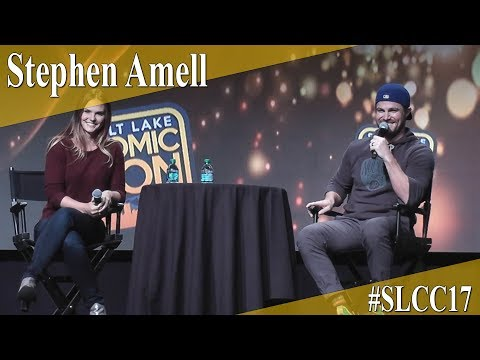 Stephen Amell - Panel/Q&A - SLCC 2017