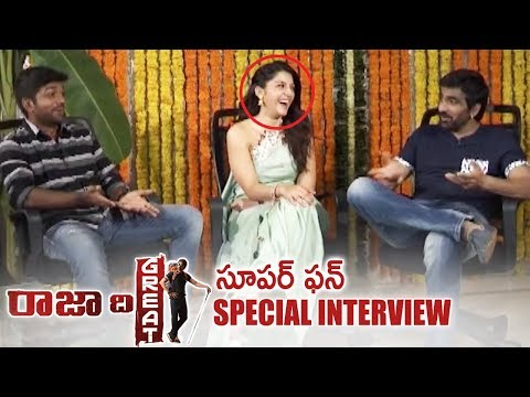 Raja The Great Team Diwali Special Interview | Super Fun | Ravi Teja | Mehreen | TFPC