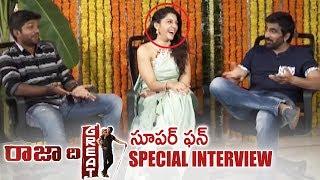 Raja The Great Team Diwali Special Interview   Super Fun   Ravi Teja   Mehreen   TFPC