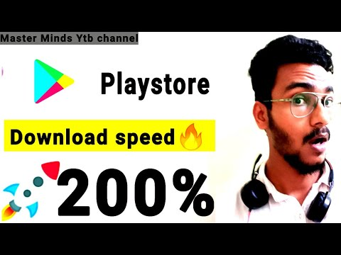 Download anything 200% Faster in Playstore!!