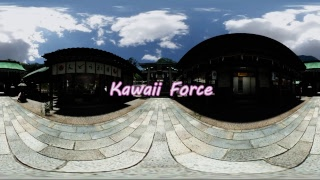 【360° Video】Kawaii Force in VRChat【Oculus GO】