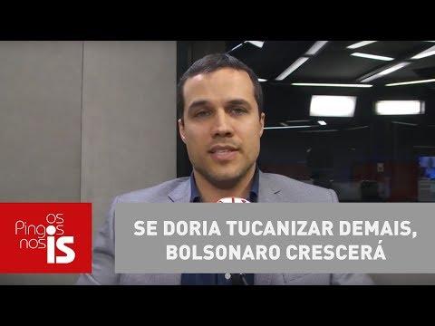 Felipe Moura Brasil: Se Doria Tucanizar Demais, Bolsonaro Crescerá