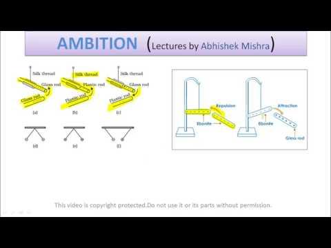 L1 - Charge, Electrostatics, Physics, Class 12 Class 12