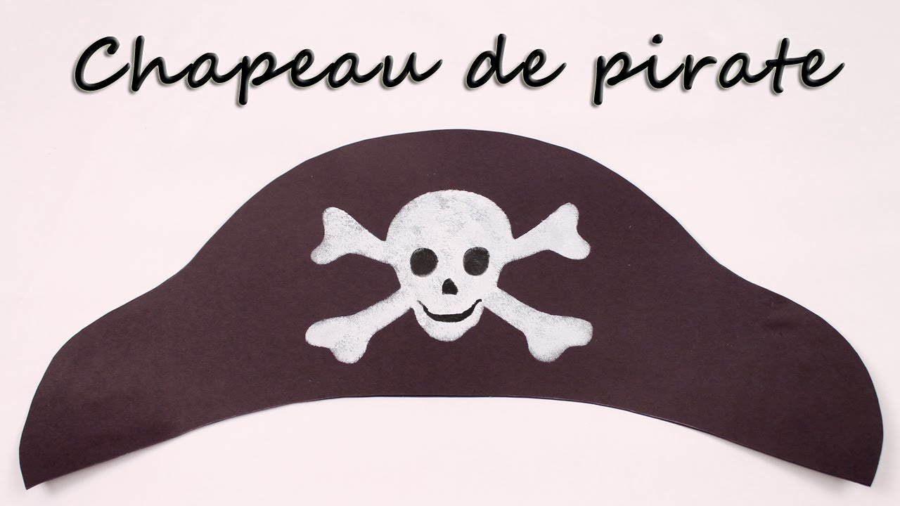 comment faire un chapeau de pirate youtube. Black Bedroom Furniture Sets. Home Design Ideas