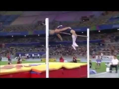 High Jump Form Slow Motion - YouTube