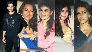 Sidharth Malhotra Birthday Party | Katrina Kaif, Jacqueline Fernandez, Sonakshi Sinha