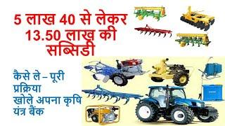 Krishi yantr subsidy कृषि यंत्रों पर सब्सिडी कैसे ले Farm implements/equipment subsidy