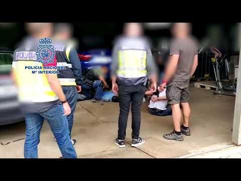 Incautan más de 1.300 kilos de cocaína en una operación contra el narcotráfico en Galicia y Madrid