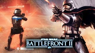 Star Wars Battlefront 2 - New Captain Phasma Gameplay! Leaked Weapons! New Last Jedi DLC Update!