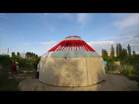 Kyrgyzstan Travel Yurt Camp by Greg Snell