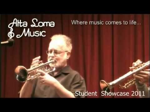 Trumpet Lessons Rancho Cucamonga  CA - Alta Loma Music Lessons Showcase 2011