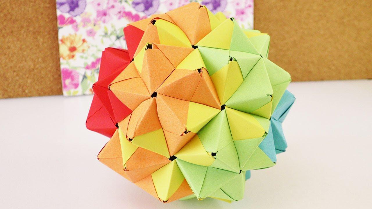 Sonobe Origami Ball