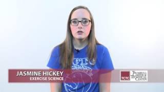 Career Tech Edu Month 2016 - Jasmine Hickey Exercise Sciene