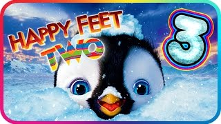 Happy Feet Two Walkthrough Part 3 (PS3, X360, Wii) ♫ Movie Game ♪ Level 6 - 7