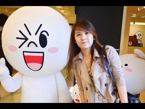 Travel: LINE Friends Cafe & Store at Garosugil, Seoul - South Korea