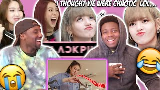 Chaotic Blackpink Moments That I Can't Forget | REACTION