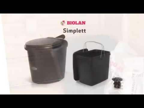 Финский туалет Biolan Simplett установка