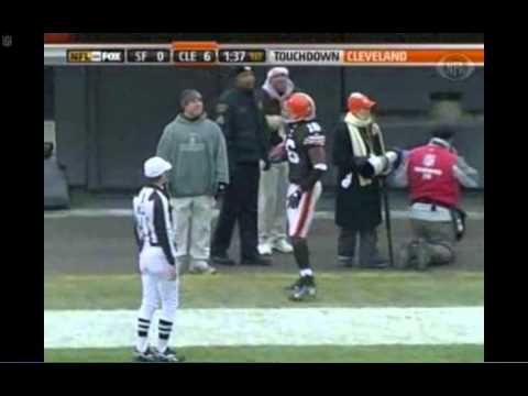 Josh Cribbs Punt Return TD 76 Yards - Browns vs. 49ers 2007