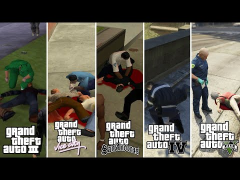 WHICH IS BEST PARAMEDIC | GTA 3 ● GTA VC ● GTA SA ● GTA 4 Or GTA 5