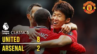 Manchester United 8-2 Arsenal 1112  Premier League Classics  Manchester United