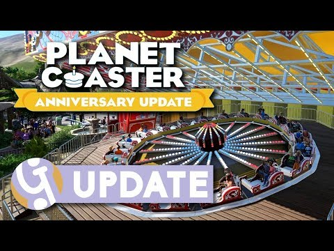 Planet Coaster Anniversary Update 1.4 Overview